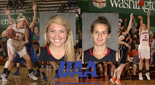 UAA Basketball Road Weekend Blog #7: Jenn Dynis/Zoe Vernon, Washington University
