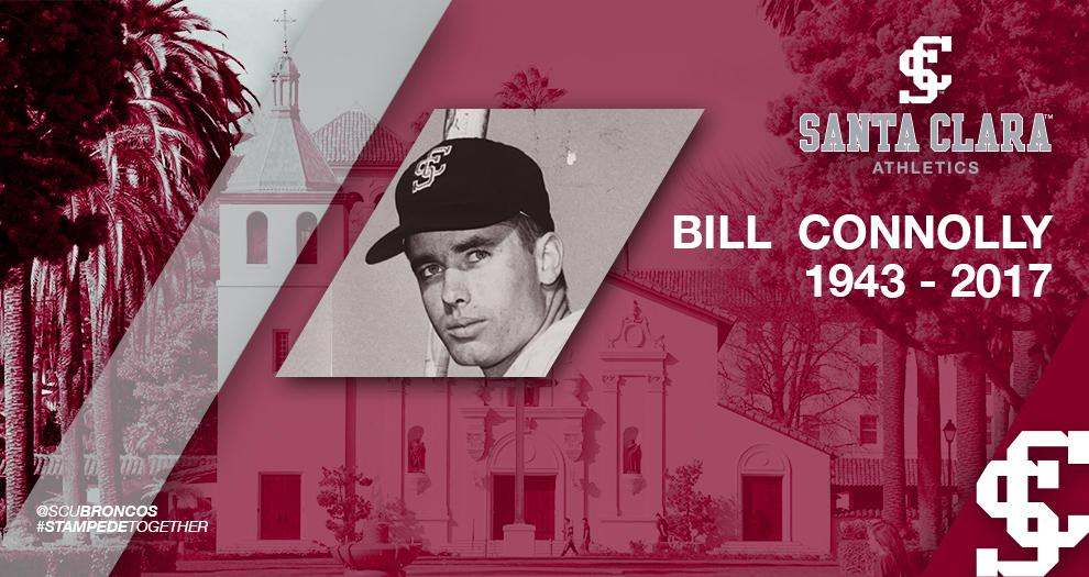 Bill Connolly (1943-2017), Santa Clara Hall of Fame Two-Sport Star