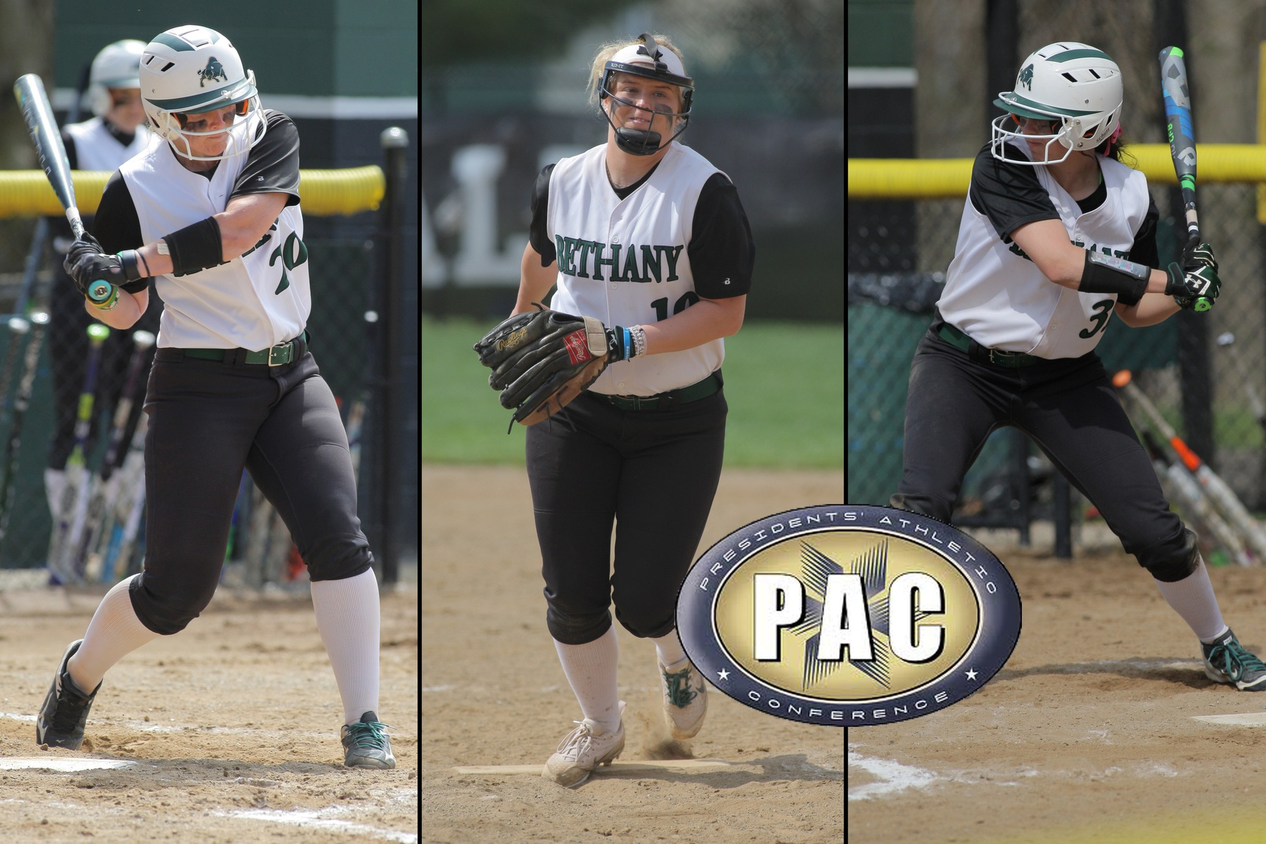 Bison land three on all-conference softball teams