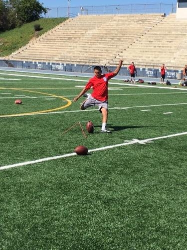 Mesa College Hosts NFL Kicking Camp