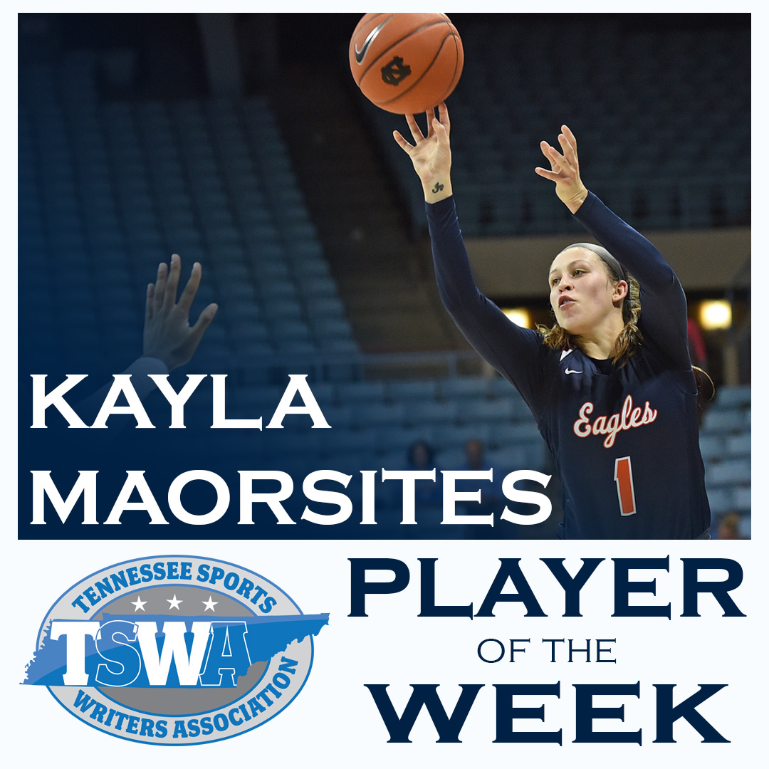 Marosites adds TSWA weekly honor