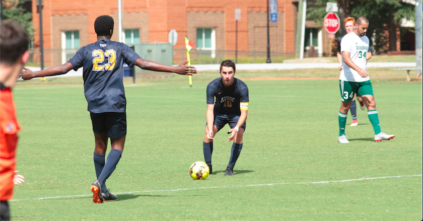 Oxford's Men's Soccer loses a tough one vs. Georgia Military