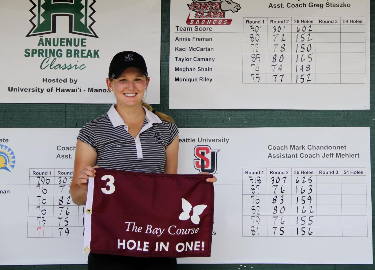 Meghan Shain Records Hole-In-One At Anuenue Spring Break Classic