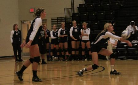 Volleyball Sweeps Pair of Matches at York