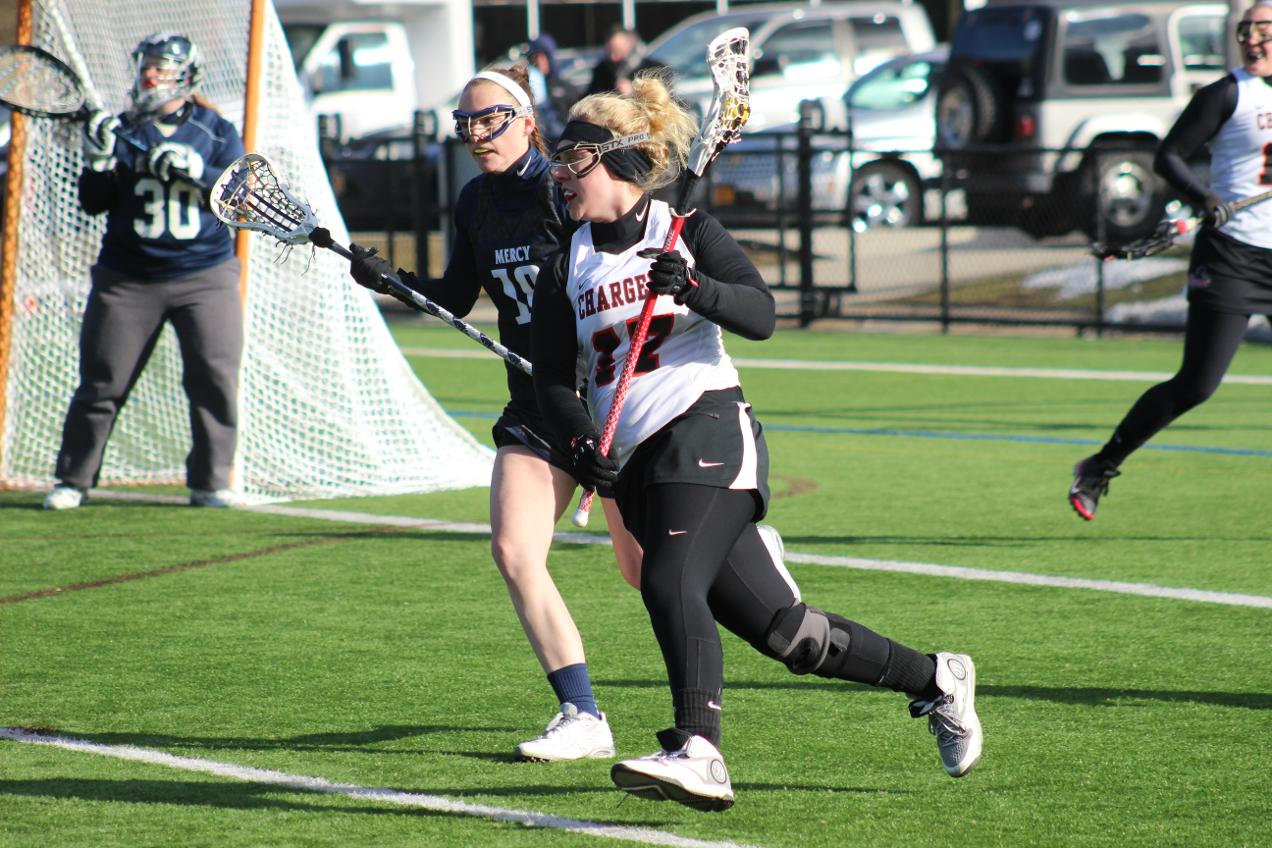 SECOND HALF LEADS PUPLE KNIGHTS OVER WOMEN'S LACROSSE