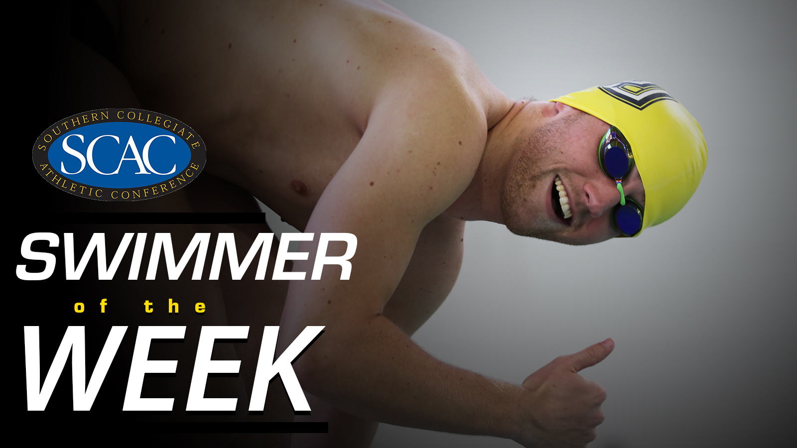 Gill Earns SCAC Swimmer of the Week for a Second Time