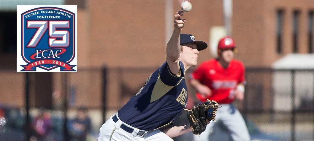 GU's Brandon Holsworth honored as ECAC Division III Upstate Pitcher of the Week