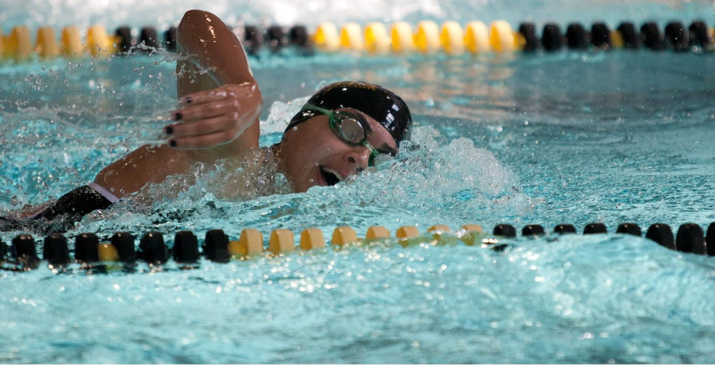 Pirates Swim Hard But Lose To Centenary College