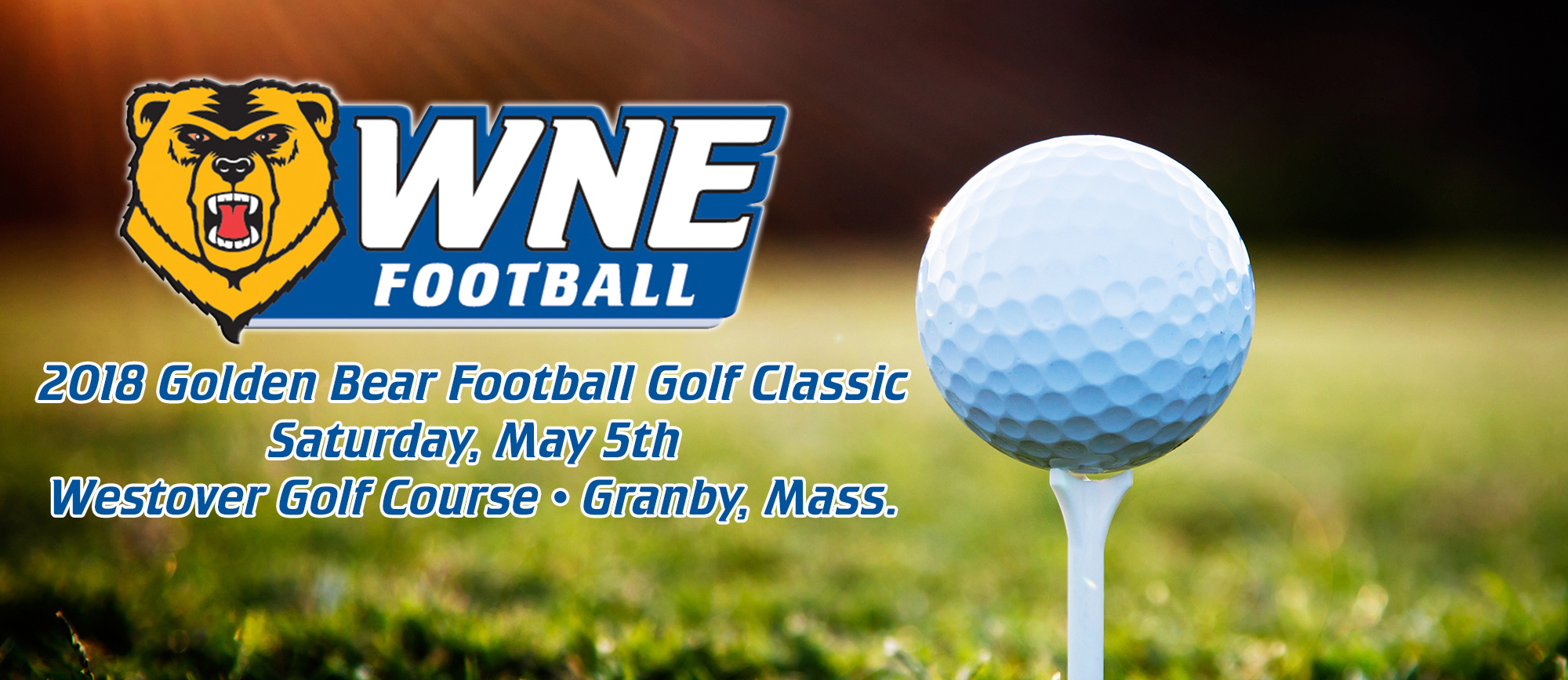 Golden Bear Football Golf Classic Set for Saturday, May 5th