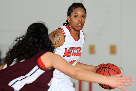 WBB Cruises Past Bay Path in NECC First Round