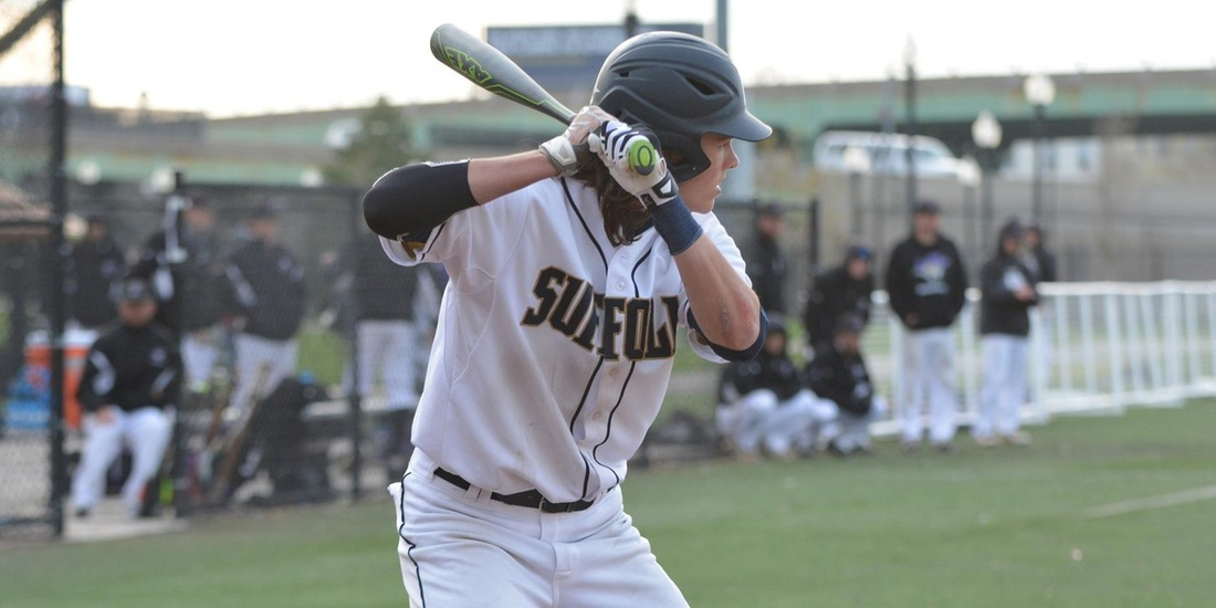 Baseball Splits Series with Brockport