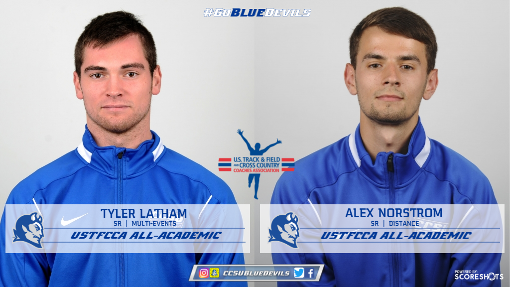 Latham, Norstrom Earn USTFCCA All-Academic Recognition