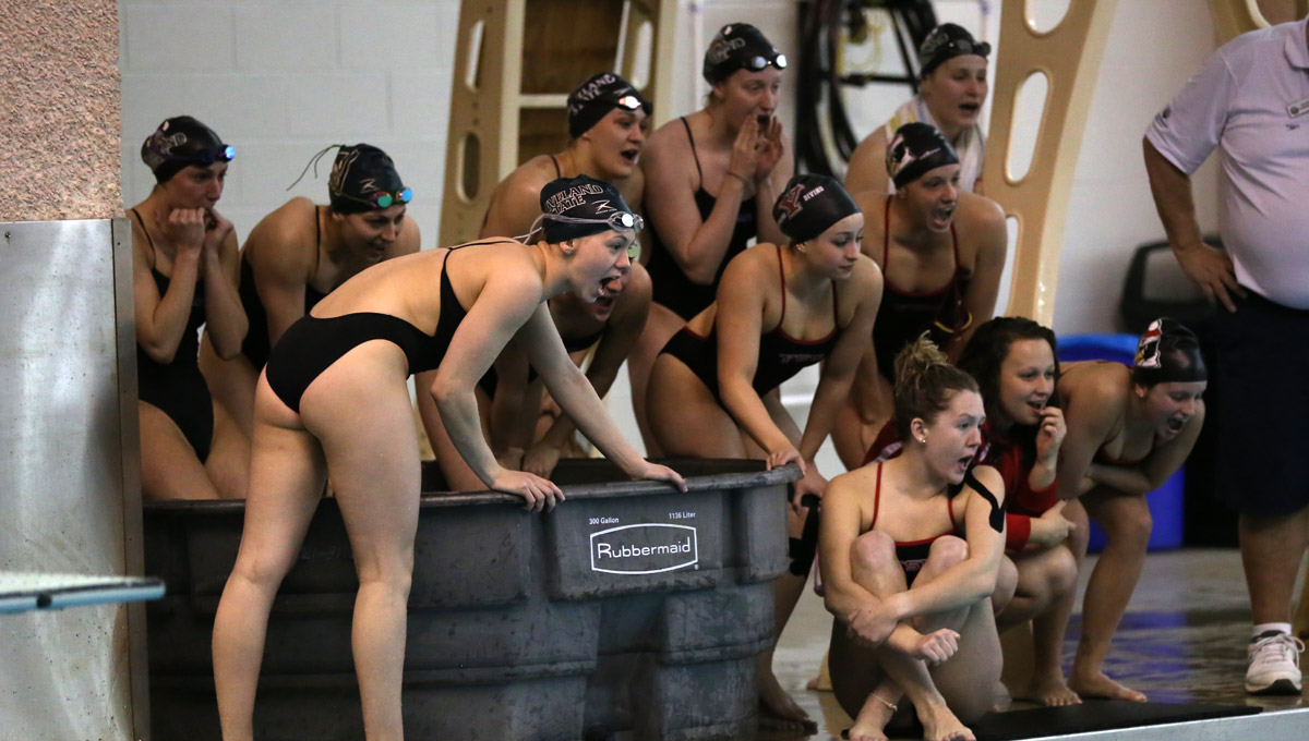 YSU swimming and diving team.