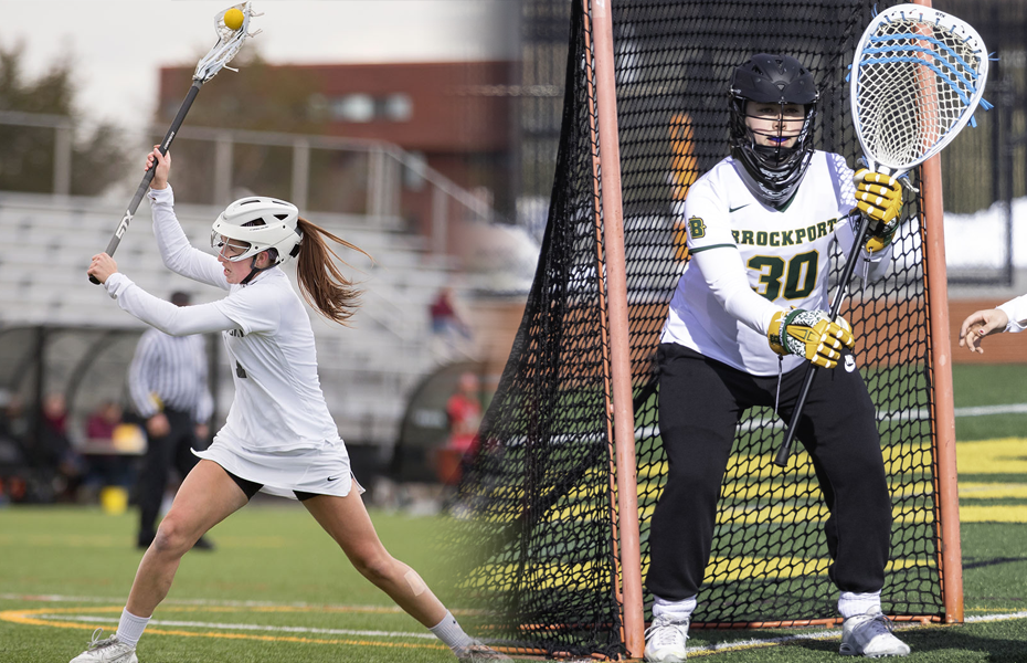 Potsdam's O'Connor and Brockport's Elmer selected as Women's Lacrosse Players of the Week