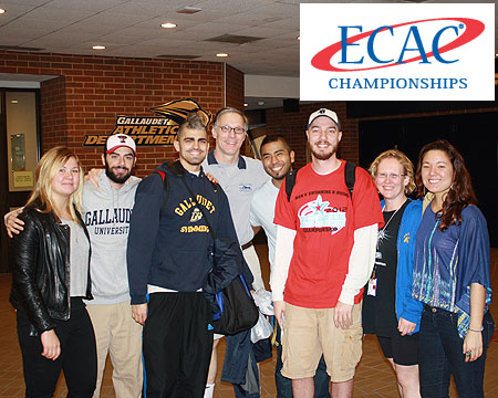 Gallaudet's Brian Bennett selected to swim at ECAC championships this Saturday
