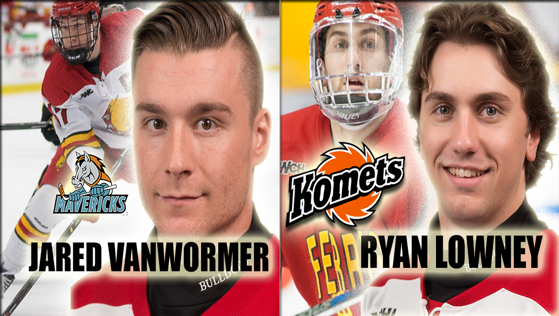Ferris State's VanWormer & Lowney Join Hockey's Professional Ranks