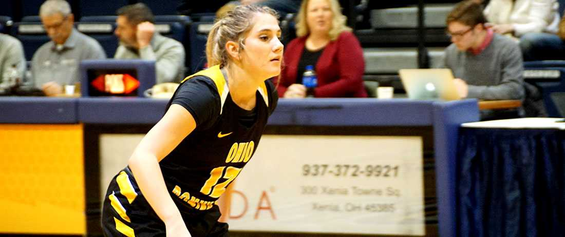 Fourth Quarter Leads Slips Away As Women's Basketball Falls 81-69 At Cedarville