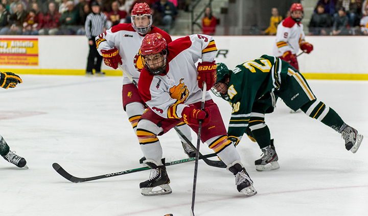 Ferris State Hockey Posts 20th Victory Of Season By Completing Weekend Sweep