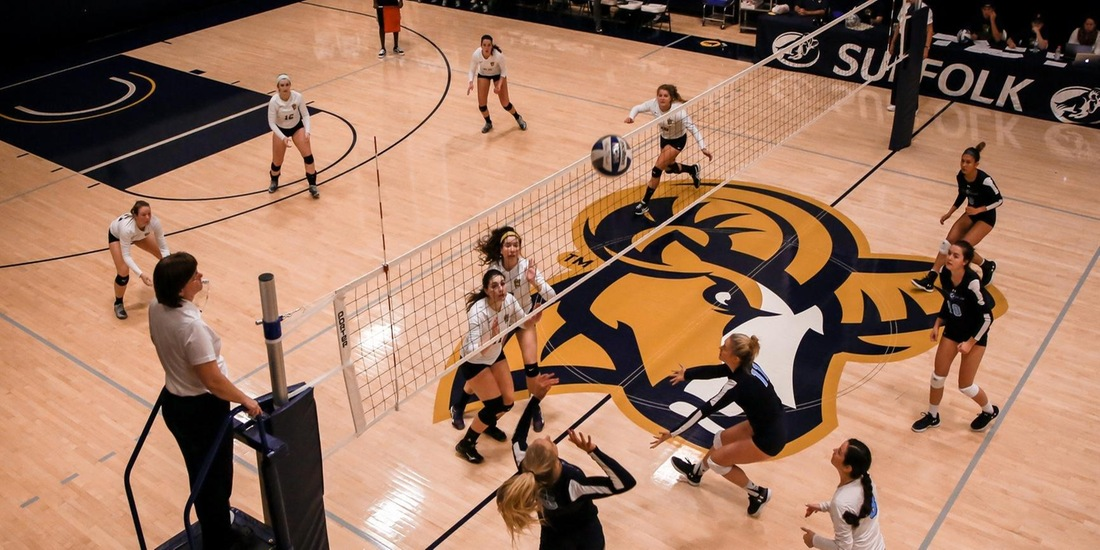 Volleyball Set for Midweek Match vs. Regis