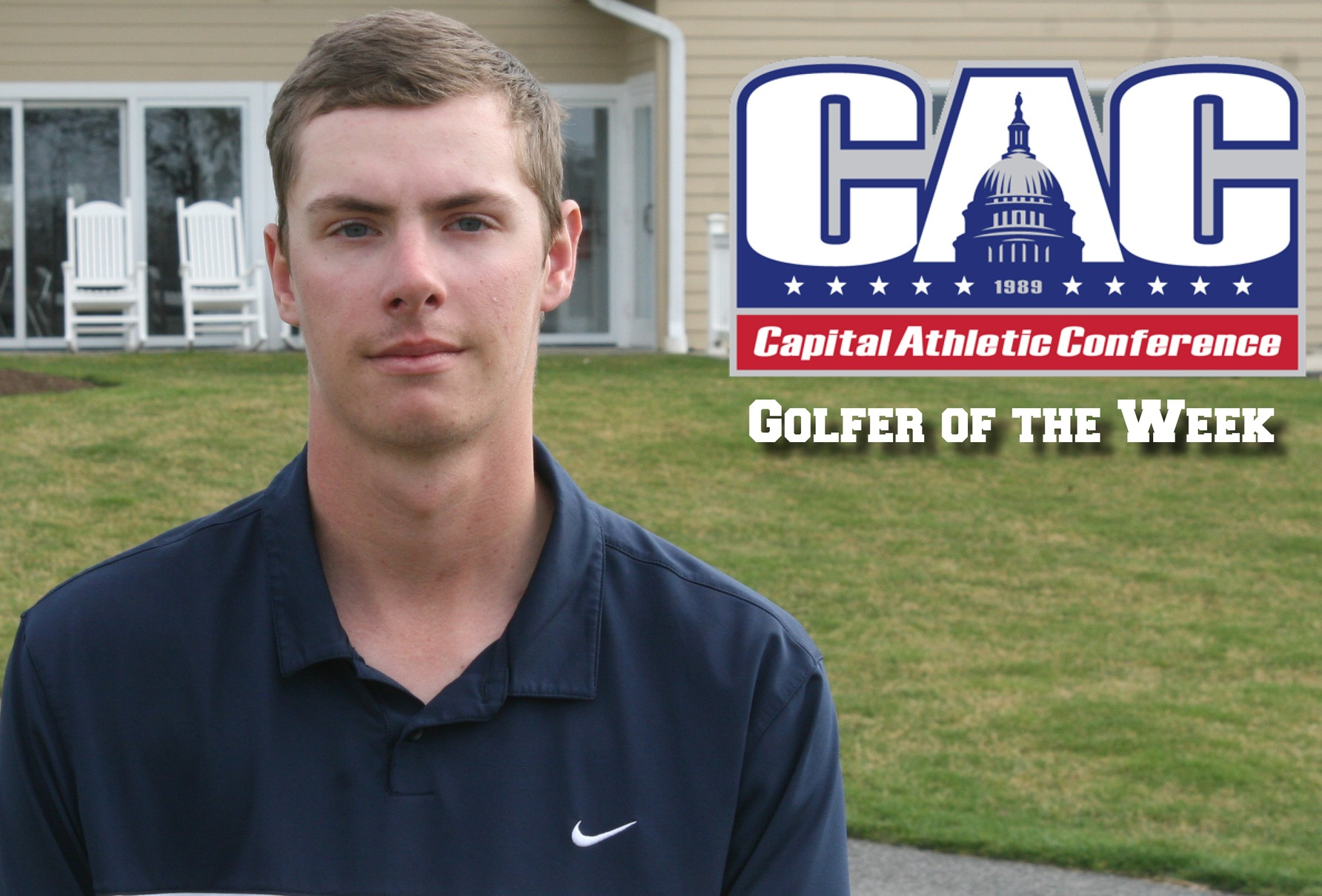 Spielberger earns CAC Golfer of the Week honors