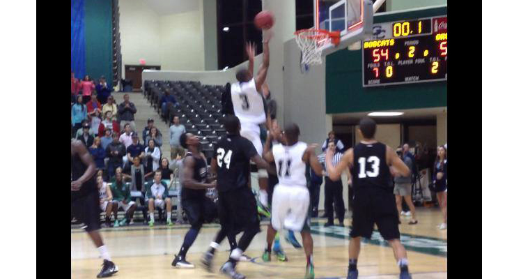 GC Men's Basketball Shocks GRU Augusta with Buzzer-Beater, 56-55