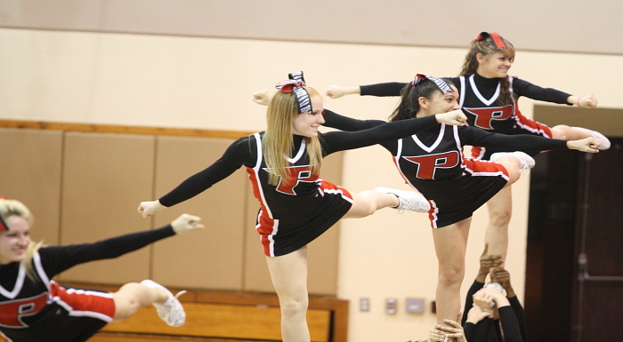 Polk State Cheerleaders Finish Ninth in Nation