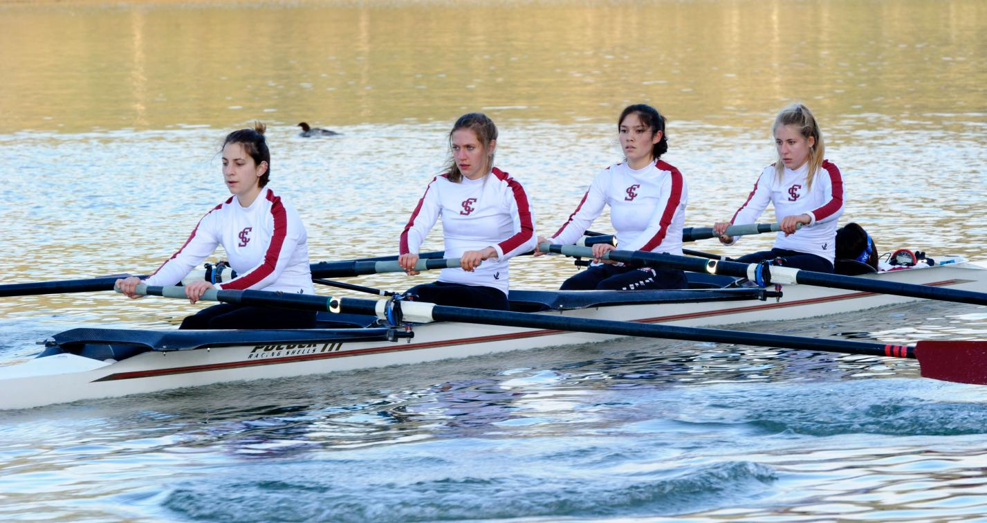 Women's Rowing Has Five Honored on WCC All-Academic Team