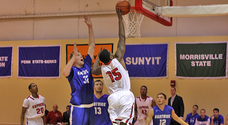 Men's Basketball Drops Season Opener At Houghton