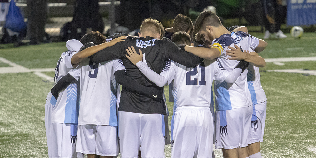 Ikwuagwu's penalty kick puts men's soccer over Marymount in overtime