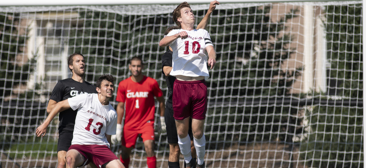 Deckel's Late Strike Lifts Men's Soccer Past WPI, 1-0, in NEWMAC Championship Semifinals