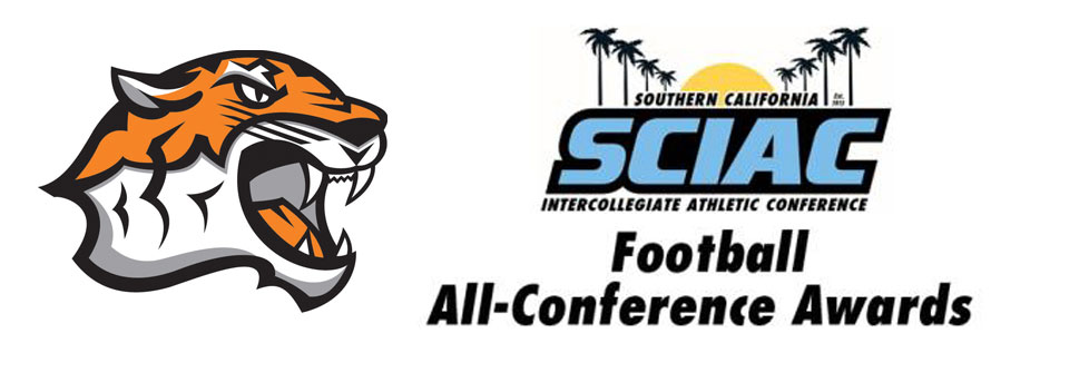 SIX OXY FOOTBALL PLAYERS NAMED ALL-SCIAC