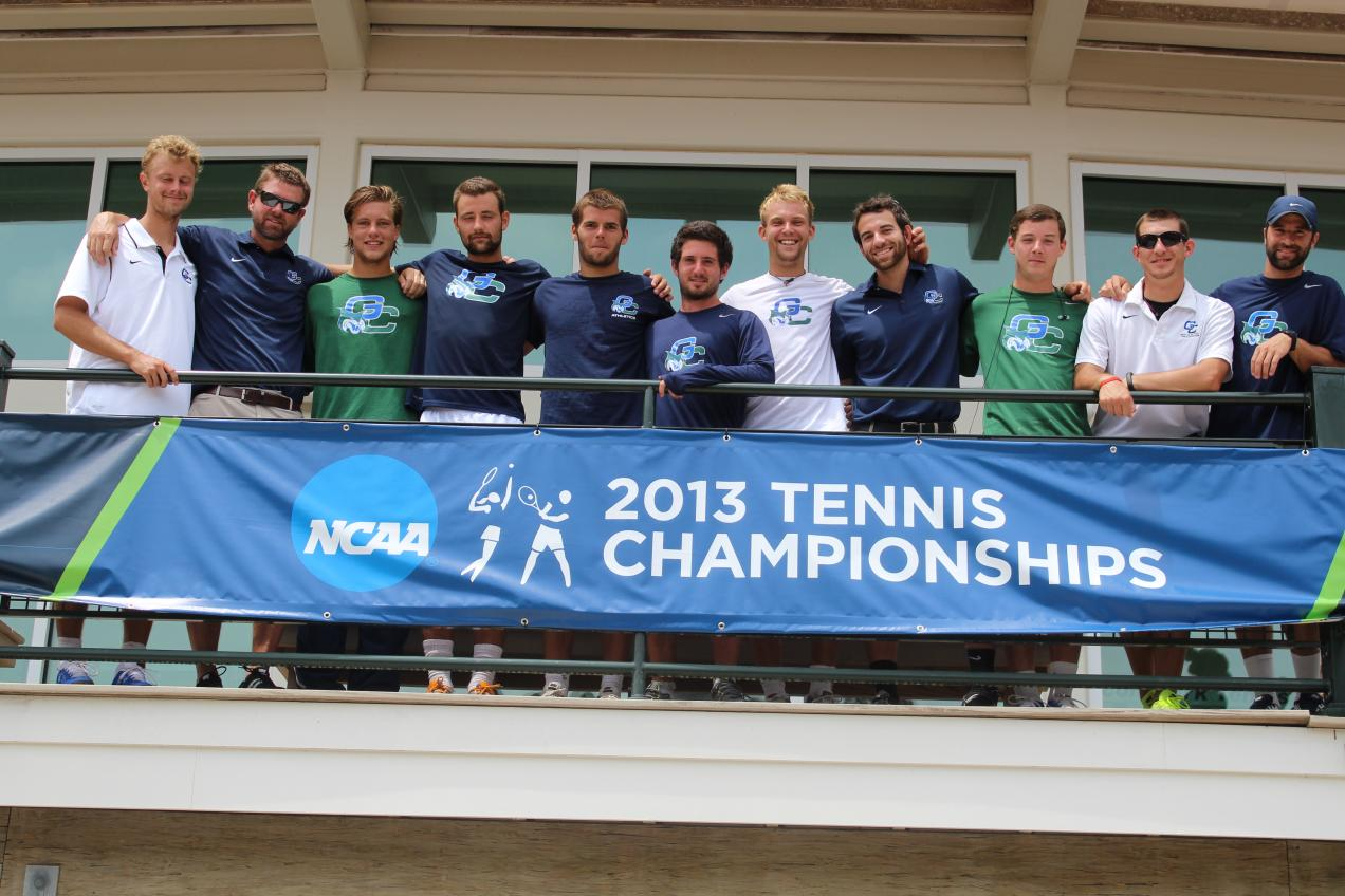 GC Men's Tennis Finishes Season at NCAA Regionals, Loses to Armstrong 6-0
