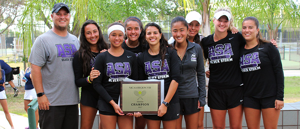 ASA Miami Women's Tennis Take Home Second Consecutive Region 8 Crown