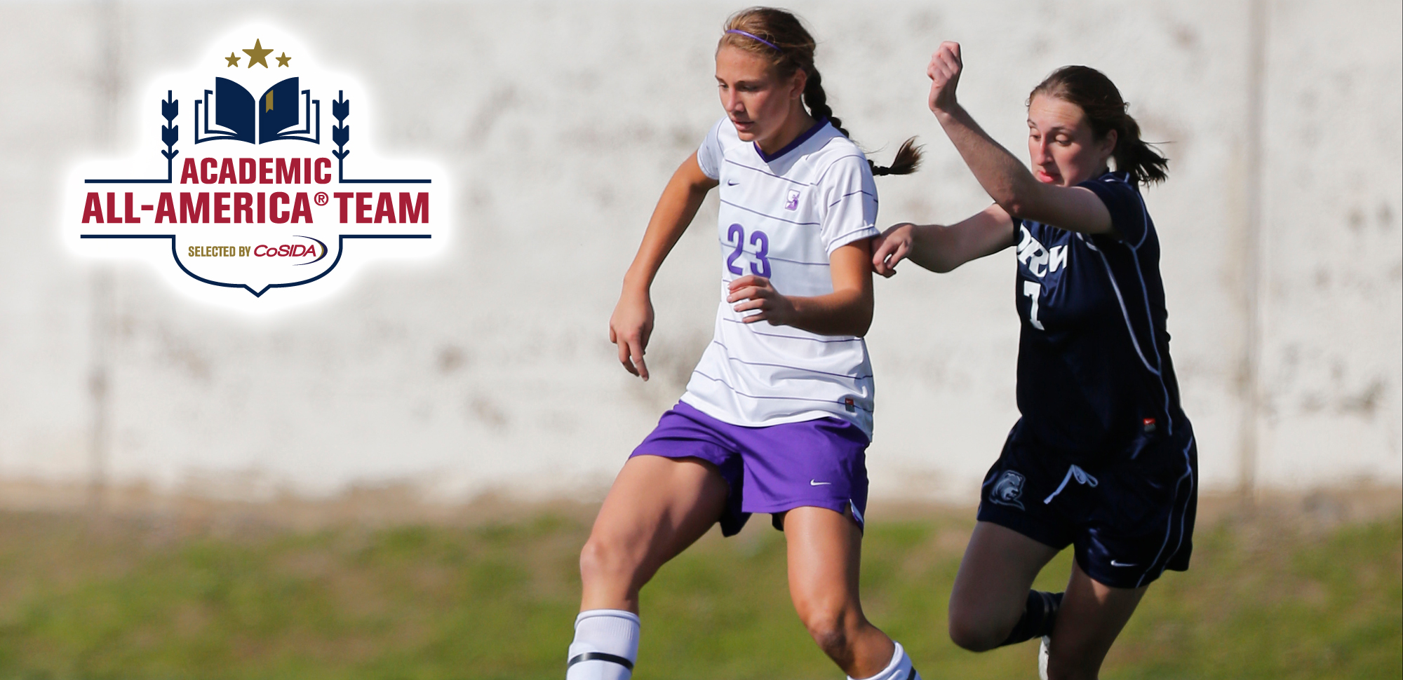 Erin Casey becomes the women's soccer player in Scranton history to earn Academic All-American honors.