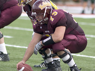 Junior offensive lineman Scott Shattuck and the Bulldogs open the season this Saturday