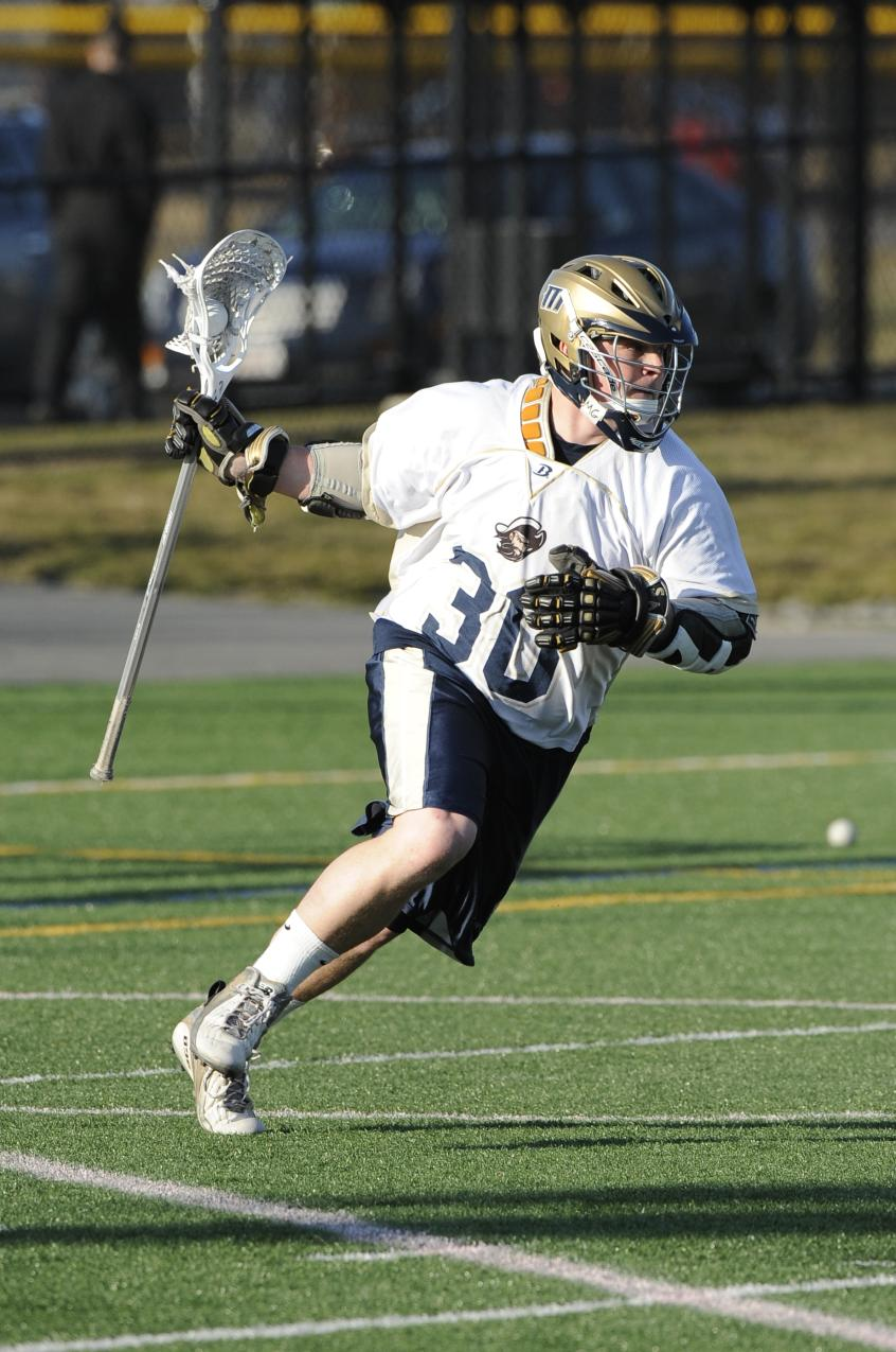 Freudenberg, Staples Combine For 12 Points As Men's Lacrosse Notches 14-10 Non-League Victory At SUNY-Cobleskill