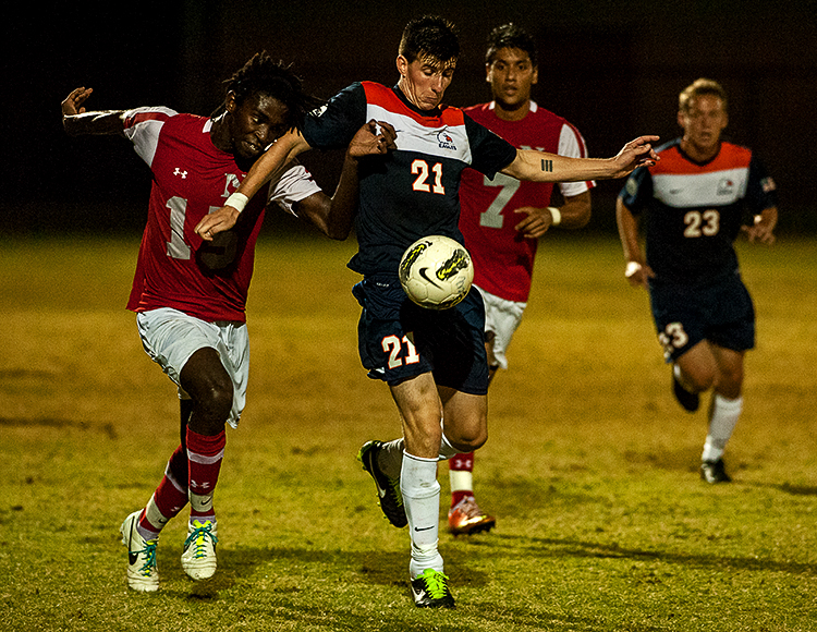 C-N men's soccer defeats Milligan at home