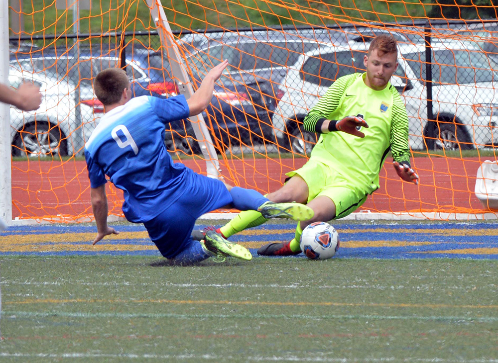 Men's Soccer Plays Westfield to Scoreless Draw
