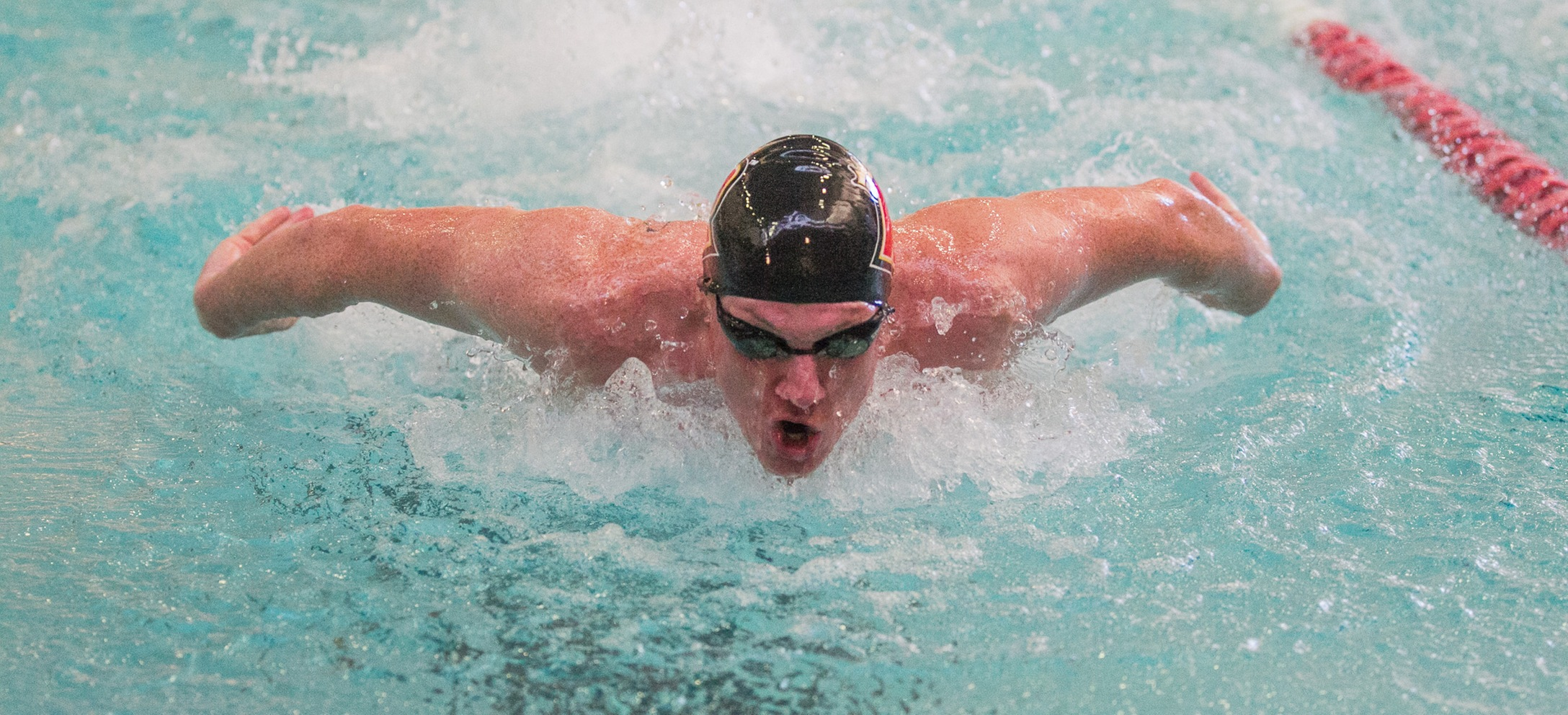 Pride Men's Swimming Loses Dual Meet to Bridgewater State