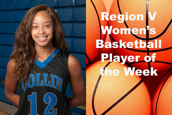 Region V Women's Basketball Player of the Week (Jan. 22)