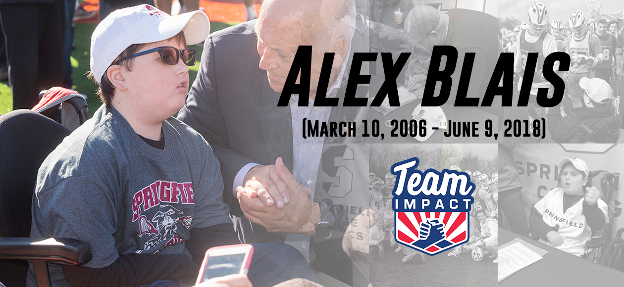 Springfield College Mourns the Passing of Honorary Men's Lacrosse Teammate Alex Blais