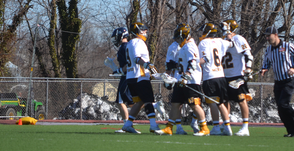 Captains Gregoire, Poe Key Men's Lacrosse's Triumph Over Monmouth
