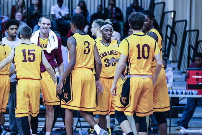 Emmanuel Men's Basketball Finishes their Season with a Third-Place Win!