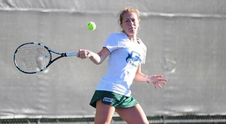#15 Women's Tennis Downs #30 Francis Marion, 7-2