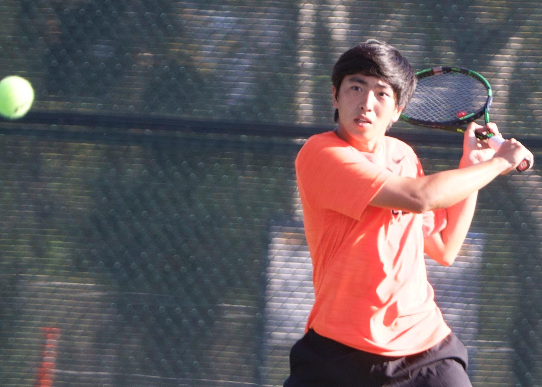 Men's Tennis Cruises to 8-1 Regional Win