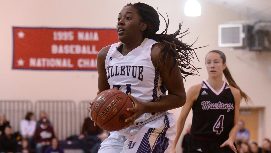 Caletria Curtis had 11 points, 10 rebounds, and 7 assists in BU's rout of York
