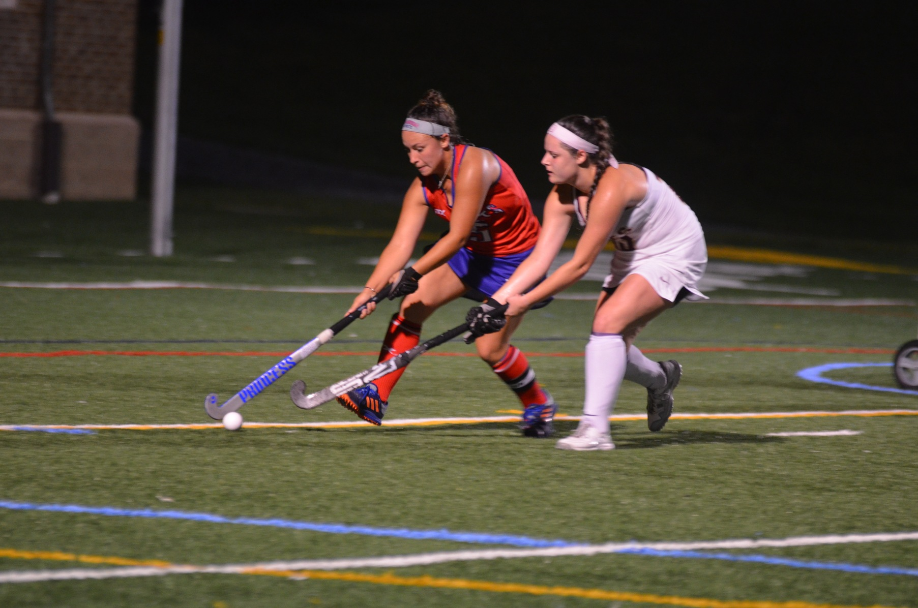 Senior Morgan Payne redirected a Kelsey Jones shot up and over the Bridgewater goalie to score the game winning goal.