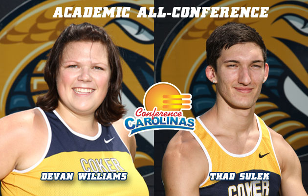 Sulek, Williams Make Academic All-Conference