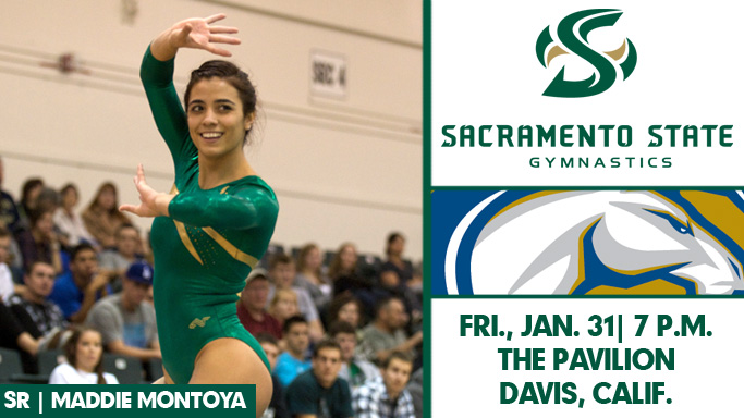 GYMNASTICS HEADS TO DAVIS FOR CAUSEWAY CLASH