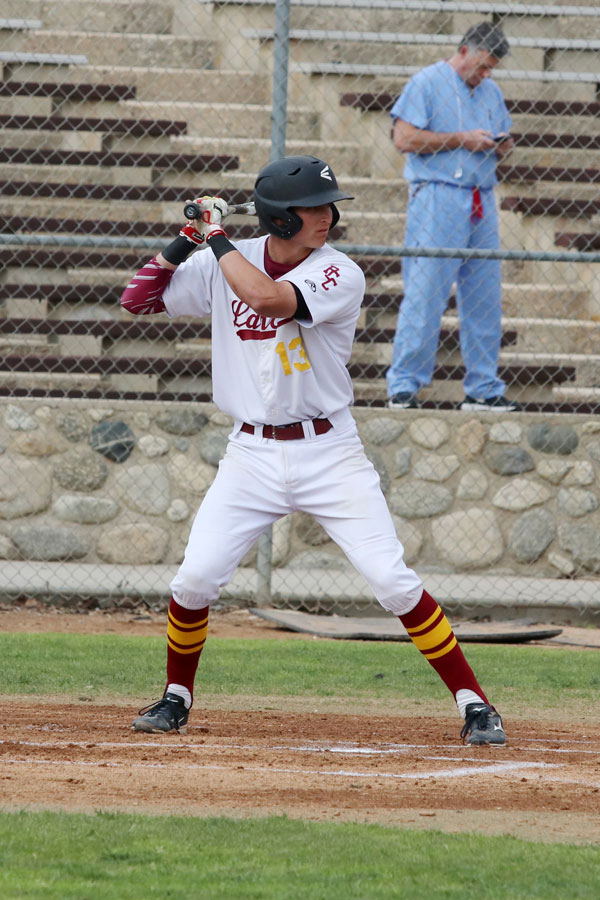 Sophomore Lancers shortstop Alex Briggs collected five hits in Tuesday's loss at Rio Hondo College.